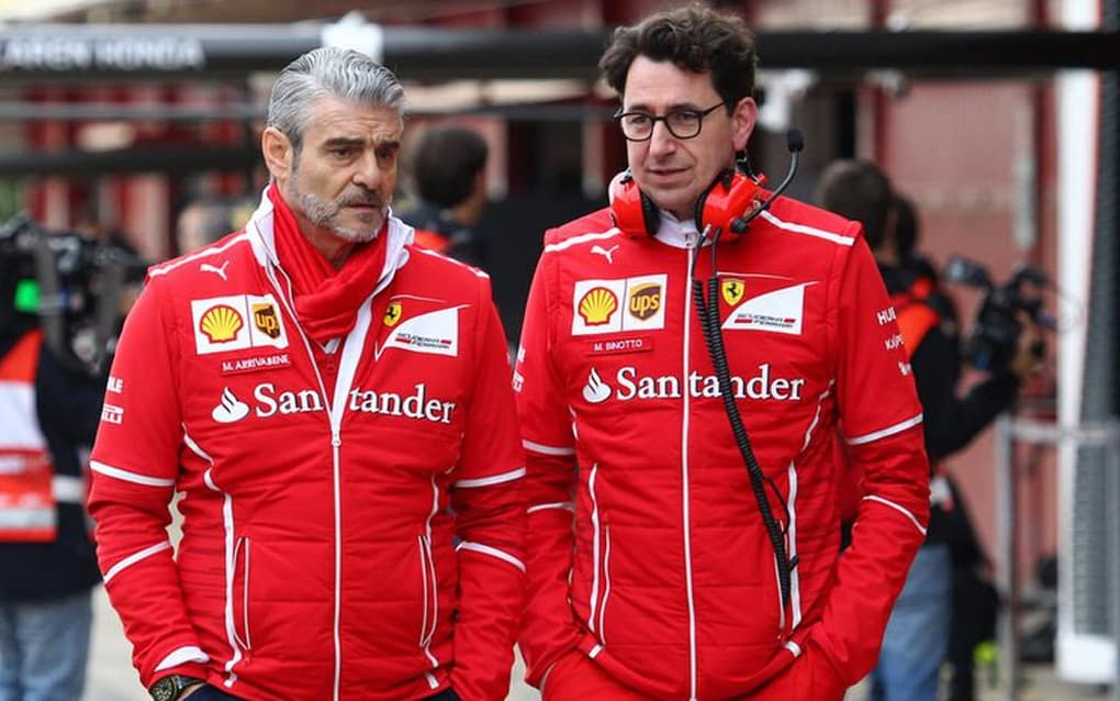 Big change at Ferrari  F1