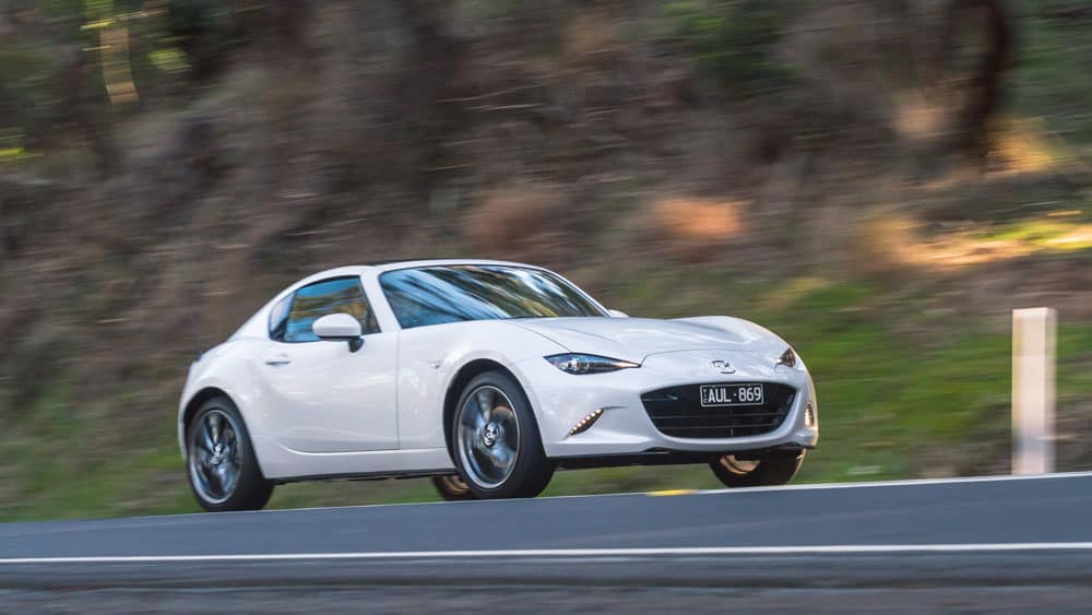 MX-5 RF takes joy to new level