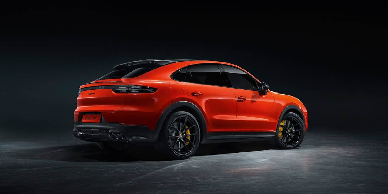Cayenne fields a fiery 4-door 'coupe'