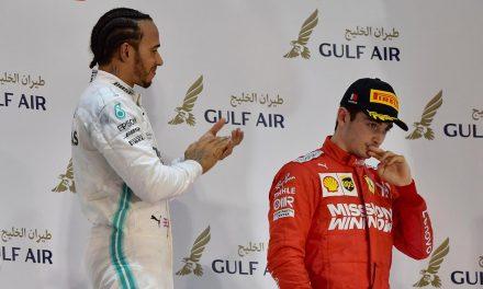 Leclerc says bleep as Ferrari goes to sleep