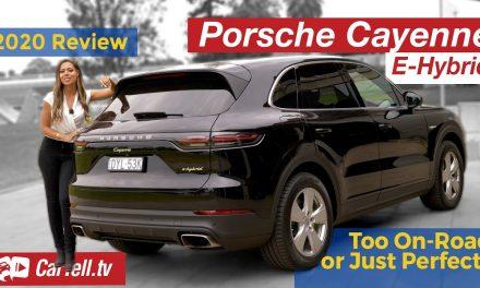 2020 Porsche Cayenne E-Hybrid review