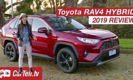 Toyota RAV4 Hybrid 2019 review