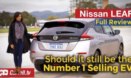 2021 Nissan Leaf EV review