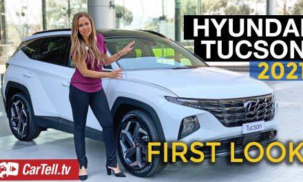 2021 Hyundai Tucson first look