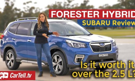 2021 Subaru Forester Hybrid review