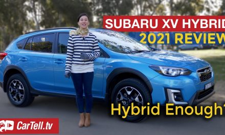 2021 Subaru XV hybrid review