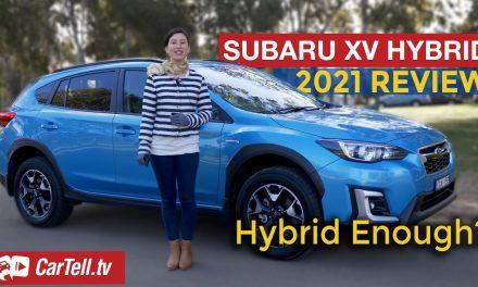 2021 Subaru XV hybrid review
