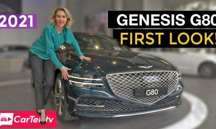 2021 Genesis G80 first look