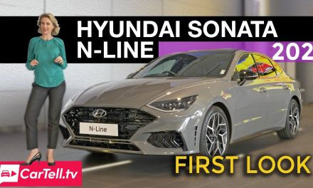 2021 Hyundai Sonata N Line first look
