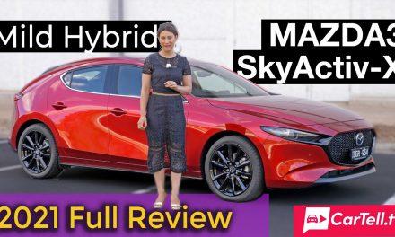 2021 Mazda 3 X20 Astina mild hybrid review