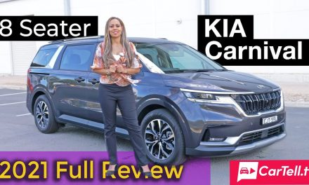 2021 Kia Carnival 8 seater review