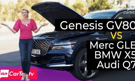 Should You Buy the Genesis GV80 over the German Trio