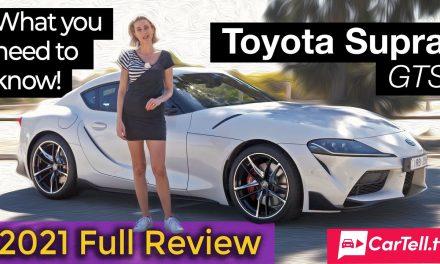 2021 Toyota Supra GTS review
