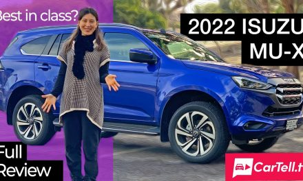 2022 Isuzu MU-X review