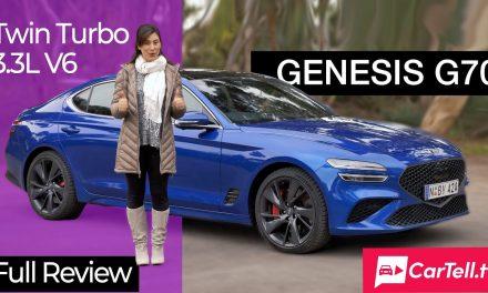 2022 Genesis G70 Sport review