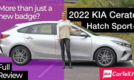 Kia Cerato Sport+ Hatch | what's new for 2022